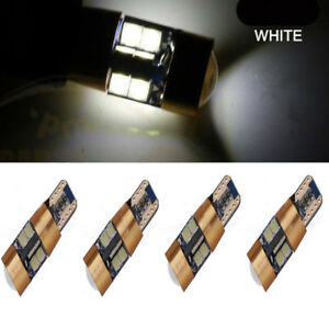 4x-LED-168-194-2825-T10-3030-19SMD-White-Bulbs-Interior-License-Plate-Lights