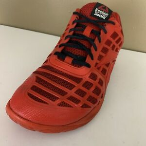 REEBOK-CROSSFIT-Mens-Red-CF-74-Training-Shoes-023501-Size-10