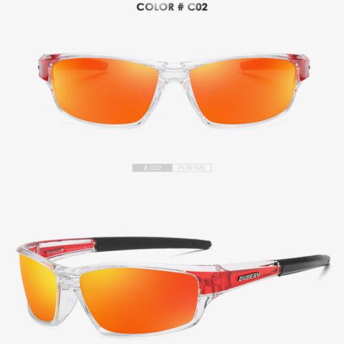 DUBERY Sport Polarized Sunglasses Men Outdoor Riding Fishing Goggles Glasses JP