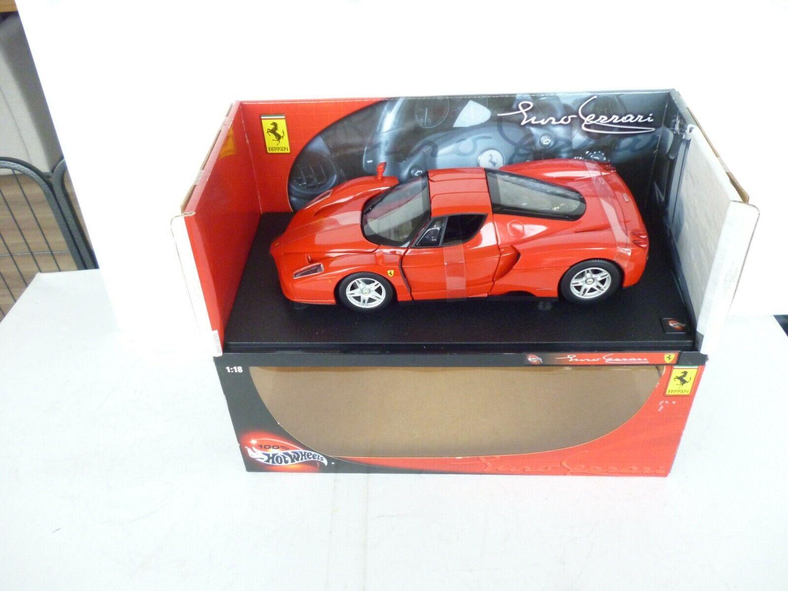 Hot Wheels Luno rosso Ferrari 1 18 New In Ovp RARE
