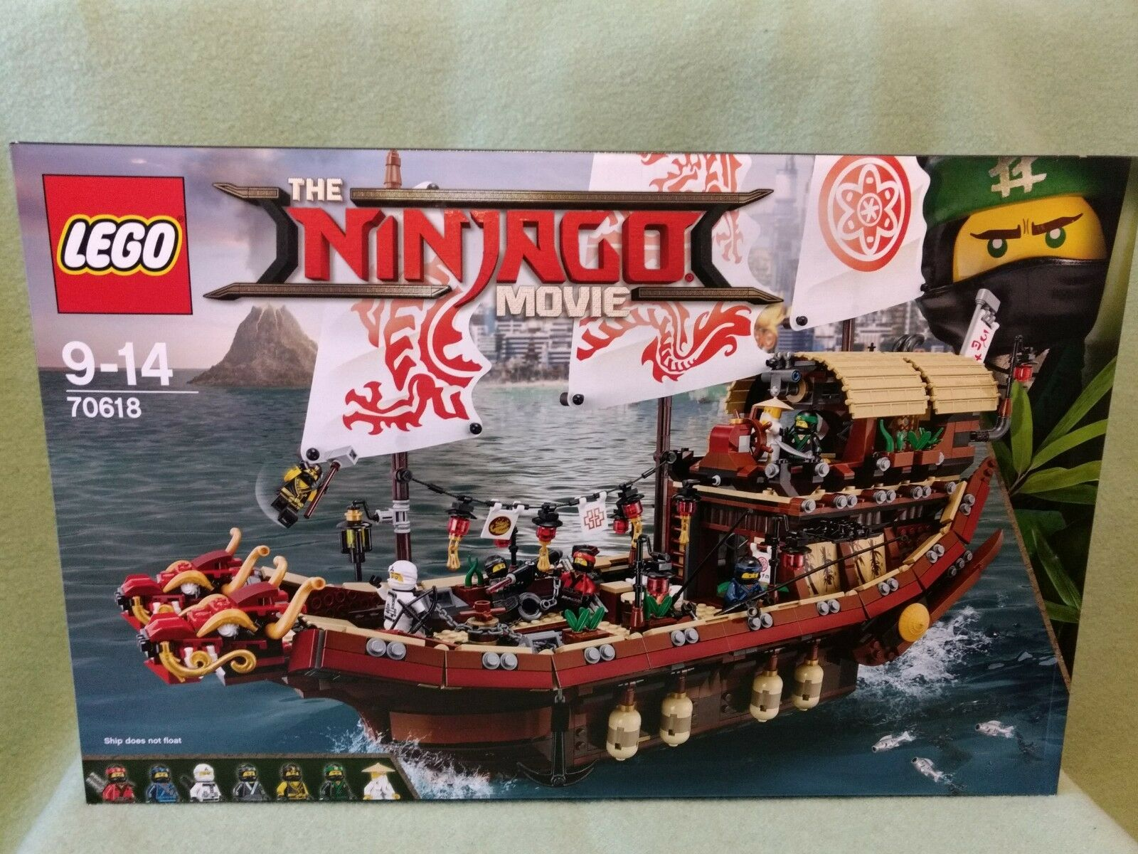 LEGO (70618) NINJAGO Ninja-Flugsegler neu ungeöffnet OVP