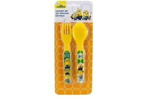 Set-of-2-Plastic-Cutlery-Minions-Despicable-Me-New