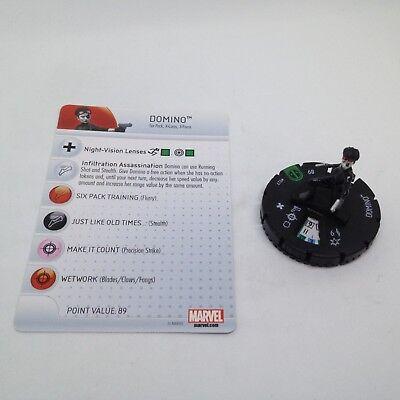 Marvel Heroclix Deadpool 027 Domino Uncommon
