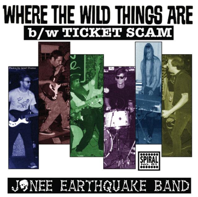 WHERE THE WILD THINGS ARE by Jonee Earthquake Band 45 7