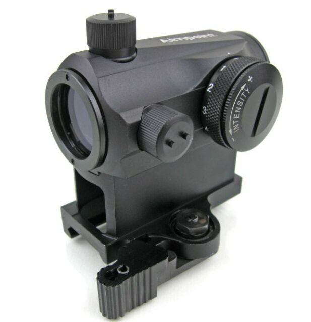 QD T-1 Clone 1x24 mm Red and Green Dot Sight Black