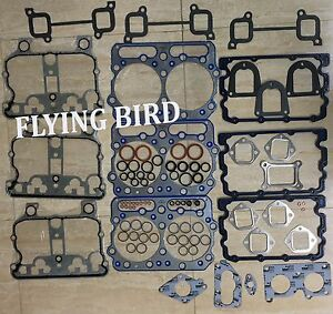 Details about Cummins DIESEL N14 CYLINDER HEAD GASKET SET (TOP)