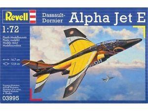 REVELL-1-72-KIT-AEREO-DASSAULT-DORNIER-ALPHA-JET-E-LUNGHEZZA-16-7-CM-ART-03995