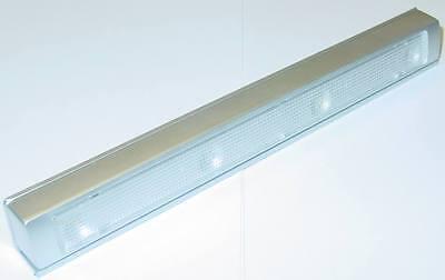 LED Schubladenleuchte Vibrationssensor, Schrankleuchte, 3xAAA, 10s, Warmweiß