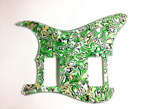 4 Ply Guitar Pickguard For Fender Stratocaster Strat HH Pickups –Green Pearl
