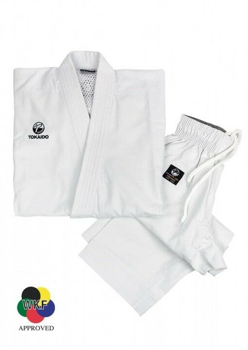 Karate Suit, Tokaido Kata Master Junior, WKF, 12 OZ, Größe 110-170cm, Karate Gi