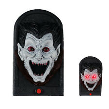Vampire Doorbell Spooky Jime Novelty Gag Door Decoration Creepy Talking Light up