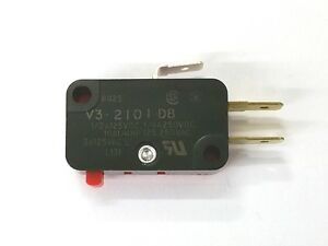 NEW-Micro-Switch-V3-2101-D8-SPDT-ON-ON-Pin-Plunger-Snap-Action-Switch-10A