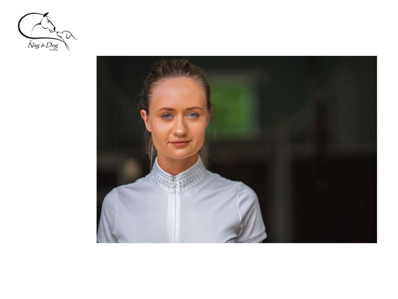 HyFashion 'Diana' Ladies Technical Competition Show Shirt Jumping Dressage