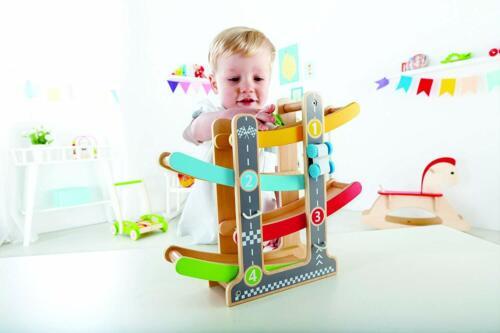 Pista in Legno Circuito per Salti Saltare Macchine Macchinine Gioco per Bambini