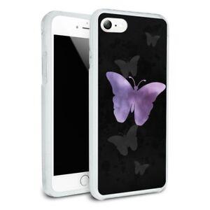 iphone 8 case purple butterfly