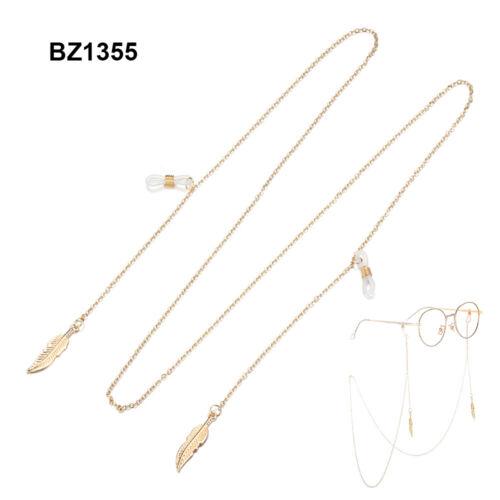 Chains Lesegeräte Lanyard Perlen Sonnenbrillen Holder Ketten der Augenbrauen