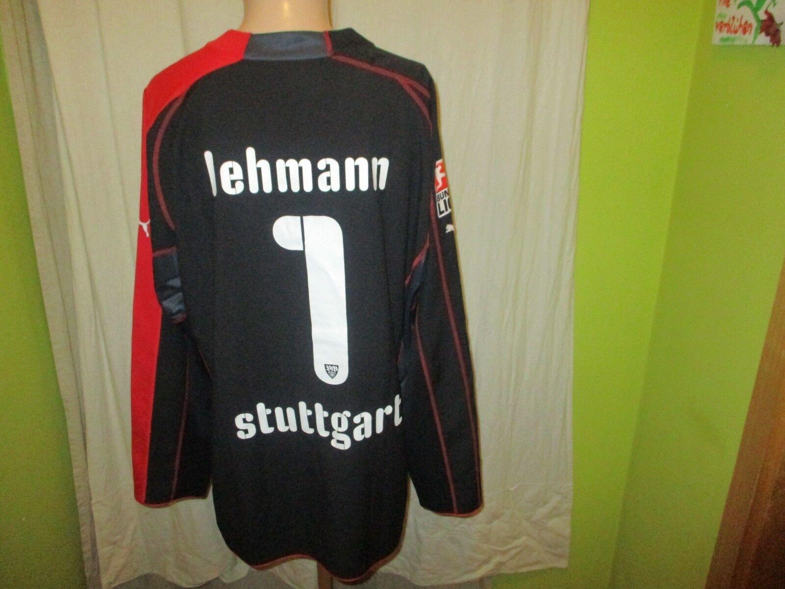 VfB Stuttgart Puma Torwart Trikot 2005 06  EnBW    + Nr.1 Lehmann Gr.XXL Neu e98b66