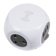 Extension Cable Cube 1.4m 3 x 230V 3 x USB Sockets /& Wireless Charging Pad