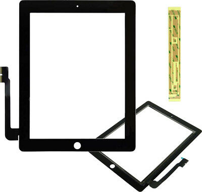 NUOVO APPLE IPAD 3 A1416 Touch Screen Digitizer Vetro Per Apple Ipad3 3rd-Nero