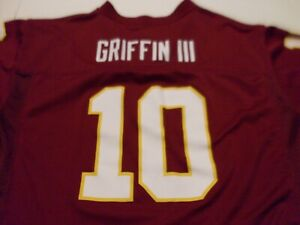 Details about NFL Team Apparel Washington Redskins Griffin 111 #10 Jersey size Youth XL