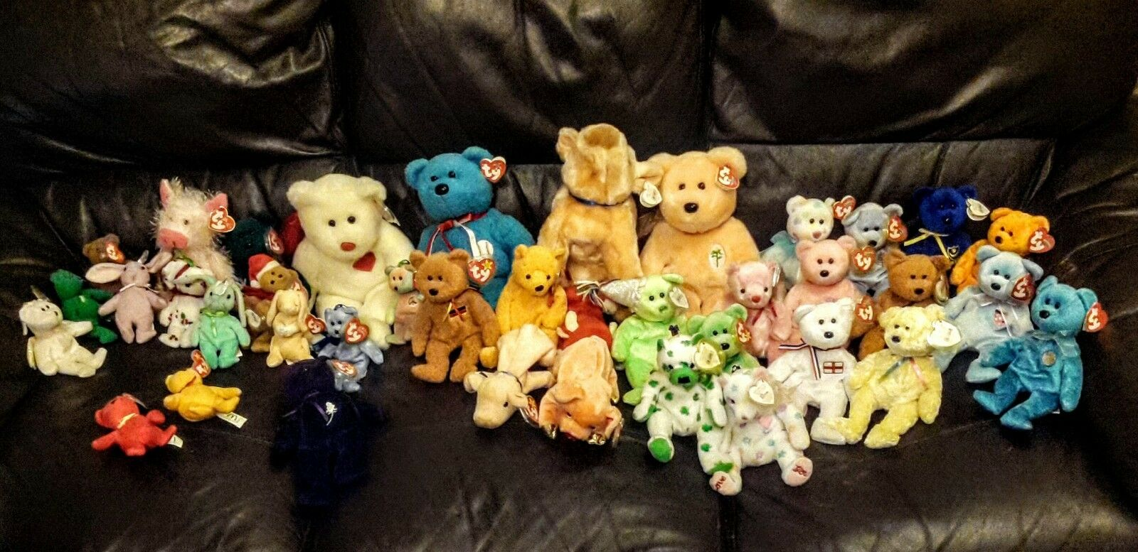 TY BEANIE BABIES LOT X 39 ( incl PRINCESS )