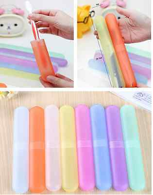 Helpful Lovely Cool Hiking Camping Toothbrush Protect Holder Portable Travel Box