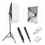 ESDDI-20-034-X28-034-Softbox-Portable-Photography-Lighting-Kit-Photo-Equipment-Studio miniatuur 1