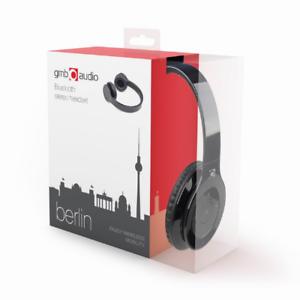 Gembird-BHP-BER-Bluetooth-Kopfhoerer-On-Ear-Headset-Schwarz-STEREO-Mikrofone