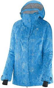 04c8e5071e SALOMON Women s ZERO Jacket Ski Snowboarding Jacket Medium Med M NEW ...
