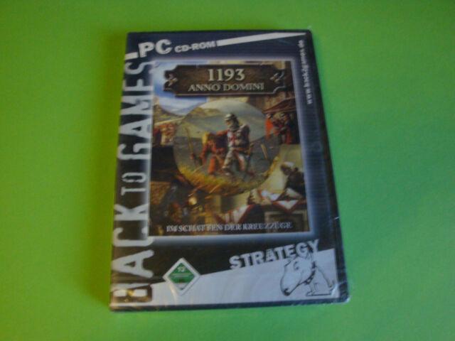 PC Spiel 1193 Anno Domini - Im Schatten der Kreuzzüge (PC, 2003, DVD-Box)