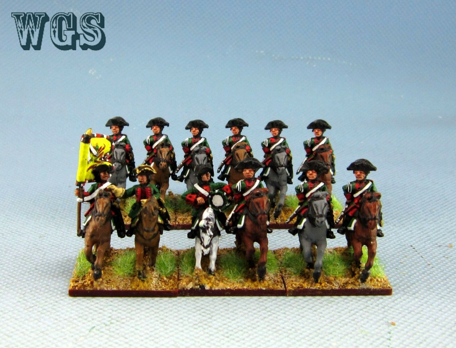 15mm WGS Seven Years War painted Austrian Austrian Dragoon AB3