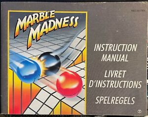 Notice Marble Madness pour Nes
