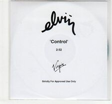 (EC485) Elvin, Control - DJ CD