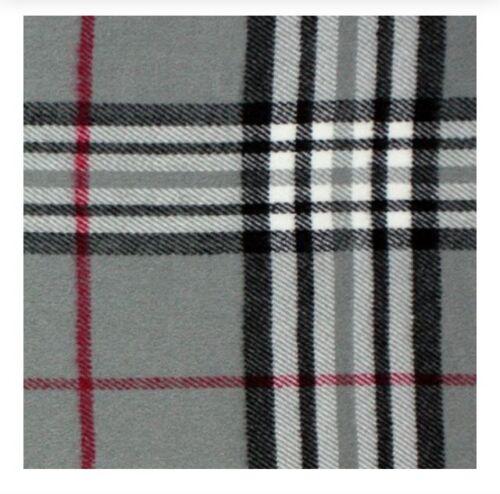 New Winter Warm 100/% Cashmere Feel Plaid Wraps Scarves Gray