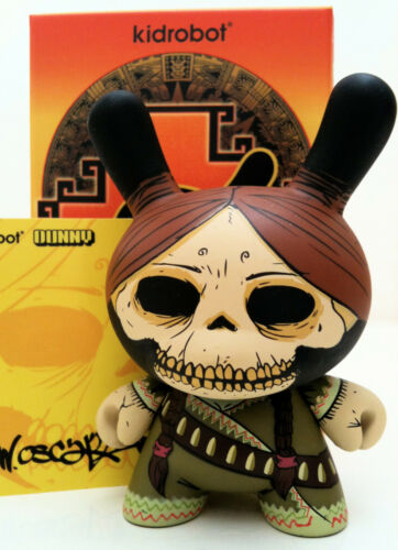 "DUNNY 3/"" AZTECA 2 SERIES OSCAR DEL MAR PIRATE SKELETON 2//25 KIDROBOT TOY FIGURE"