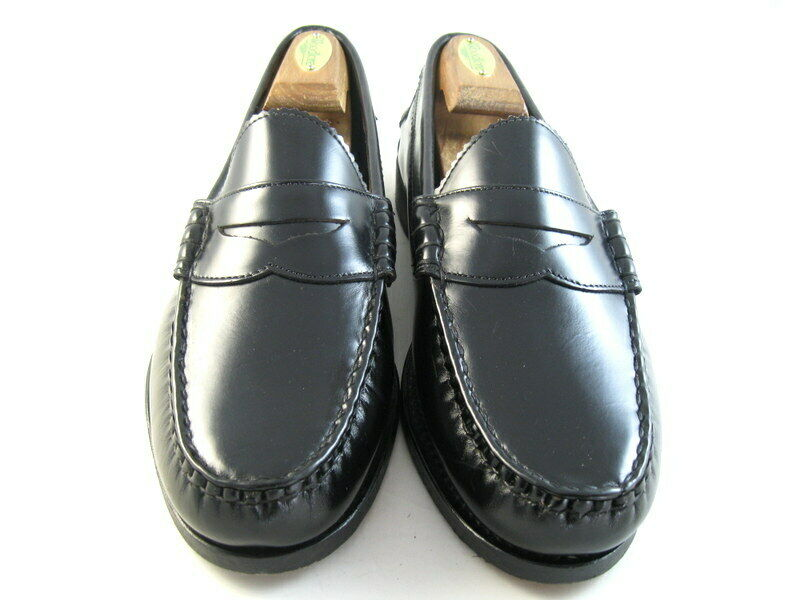 Allen Edmonds  KENWOOD  Loafer 10 D Black   (906)