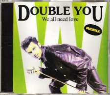 Double You - We All Need Love (Remix) - CDM - 1992 - Eurodance 4TR Robyx