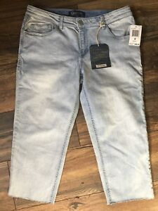 Jean Democracy 88 Nwt Skill pour skinny Skimmer Skimmer taille corsaire fille bleue 8 w74x7qrSE
