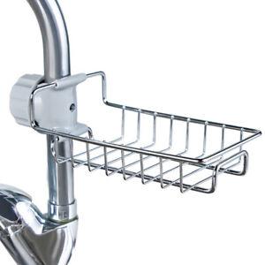 Stainless-Steel-Kitchen-Storage-Rack-Holder-Sink-Drainer-Tidy-Bathroom-Organizer