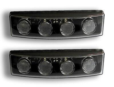 2 X 12V 24V LED Avant Blanc Position Feux Scania Visière OEM 1798981 1910437