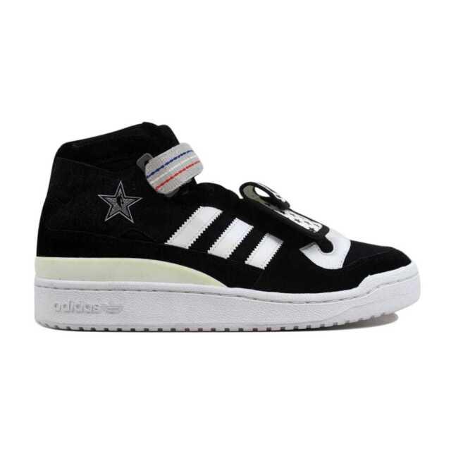 online retailer a2918 85f4d Adidas Forum Mid UNDFTD All Star Weekend Black/White G47023 Men's SZ 9.5