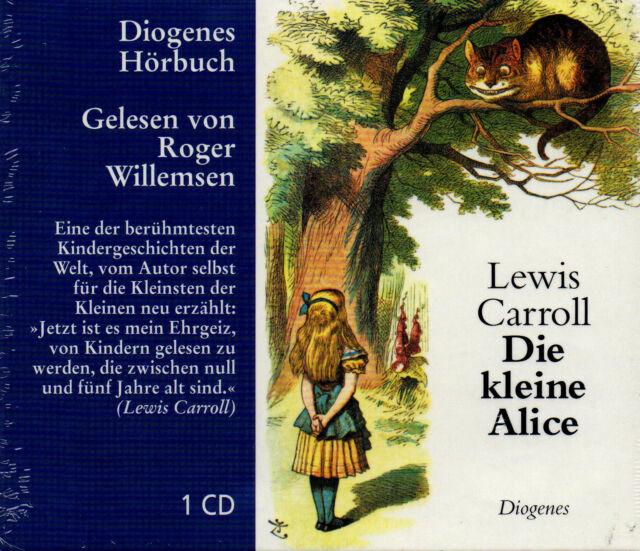 Die kleine Alice - Lewis Carroll -  Hörbuch CD - NEU/OVP