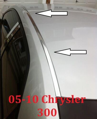 For 2005-2010 CHRYSLER 300 CHROME ROOF TOP TRIM MOLDING KIT