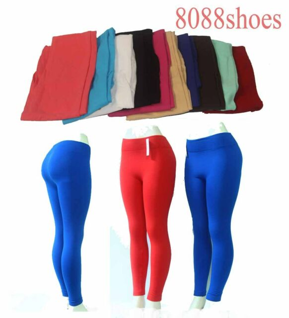 Women's Two Style Color One Size Sexy  Slim Stretch Footless Skinny Leggings NEW