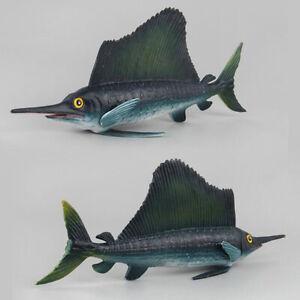 Sailfish-Realistic-Animal-Model-Solid-Plastic-Figure-Diecast-Model-Toy-LI