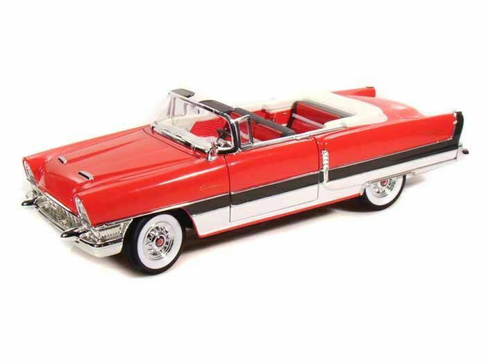 Packard autoibbean 1955 automine rosso 1 18 auto stradali scala lucky die cast