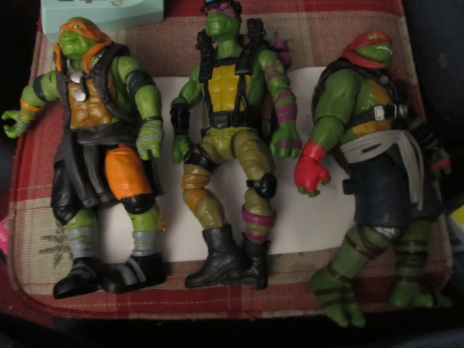 TMNT Teenage Mutant Mutant Mutant Ninja Turtles 3 10 inch figures 2014 e7ae65