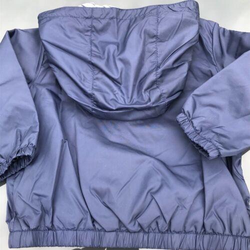 Baby Jungen Kinder Jacke Jäckchen Kaputze Reißverschluss Seemänner Marineblau