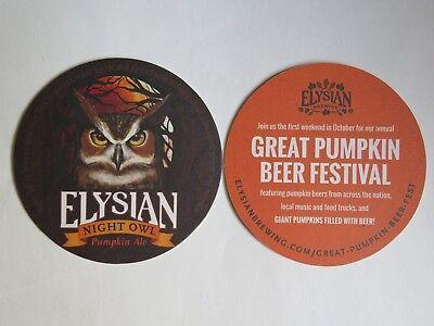 ELYSIAN BREWING seattle Night Owl Pumpkin Ale STICKER decal craft beer brewery