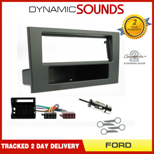 Car Radio Stereo Fascia Facia Panel Adaptor Surround Fitting Kit for Ford Mondeo